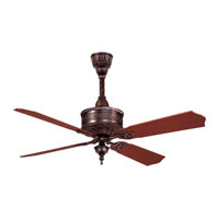 Casablanca 19th Century 4 Blade 54 inch Ceiling Fan Unipack in Weathered Copper with Mahogany Blades 99U32T photo thumbnail