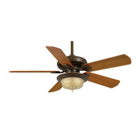 Casablanca Fans Badge 21 Inch Fan Blades (Set of 5) in Teak B507 photo thumbnail