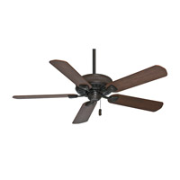 Ainsworth 54 inch Brushed Cocoa with Distressed Walnut / Dark Walnut Blades Indoor Ceiling Fan