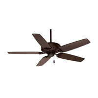 Concentra 54 inch Brushed Cocoa with Distressed Walnut / Dark Walnut Blades Indoor Ceiling Fan