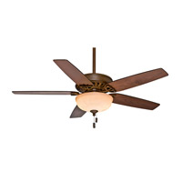 Casablanca Concentra Gallery 5 Blade 54 inch Gallery Edition Ceiling Fan Unipack in Acadia with Smoked Walnut & Clove Blades 54024