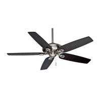 Casablanca Capistrano 5 Blade 60 inch Celing Fan (Motor Only) in Brushed Nickel (Blades Sold Separately) 54029