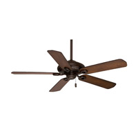 Casablanca Capistrano 5 Blade 60 inch Celing Fan (Motor Only) in Brushed Cocoa (Blades Sold Separately) 54030