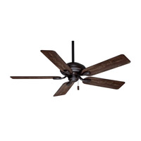 Casablanca Utopian 5 Blade 52 inch Celing Fan with Blades in Brushed Cocoa with Distressed Antique Halifax Blades 54035