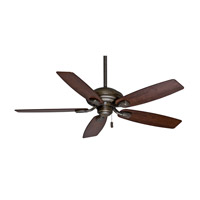 Casablanca Utopian 5 Blade 52 inch Celing Fan with Blades in Aged Bronze with Black Mahogany Blades 54036