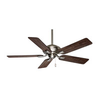 Casablanca Utopian 5 Blade 52 inch Celing Fan with Blades in Brushed Nickel with Distressed Antique Halifax Blades 54038