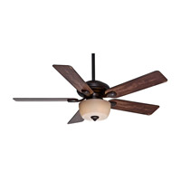 Casablanca Utopian Gallery 5 Blade 52 inch Gallery Edition Ceiling Fan Unipack in Brushed Cocoa with Distressed Antique Halifax Blades 54039