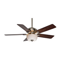 Casablanca Utopian Gallery 5 Blade 52 inch Gallery Edition Ceiling Fan Unipack in Brushed Nickel with Distressed Antique Halifax Blades 54042