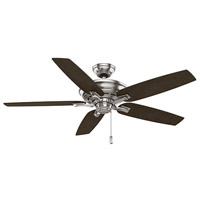 Academy Brushed Nickel Ceiling Fan Motor, Blades Sold Separately