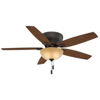 Durant 54 inch Maiden Bronze with Walnut/ Smoked Walnut Blades Indoor Ceiling Fan
