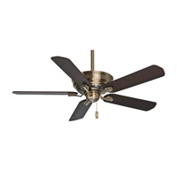 Adelaide 54 inch Antique Brass Fan Motor Only