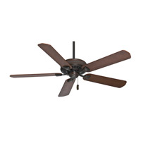 Casablanca Ainsworth 5 Blade 60 inch Celing Fan with Blades in Brushed Cocoa with Distressed Walnut & Dark Walnut Blades 55001