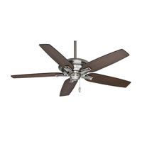 Casablanca Brescia 5 Blade 60 inch Celing Fan (Motor Only) in Brushed Nickel (Blades Sold Separately) 55016