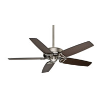 Casablanca Panama 5 Blade 60 inch Celing Fan (Motor Only) in Brushed Nickel (Blades Sold Separately) 55028