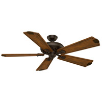Fellini 60 inch Cocoa with Walnut Regal Blades Indoor Ceiling Fan