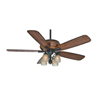 Casablanca Heathridge 4 Light Indoor Ceiling Fan in Aged Steel 55051