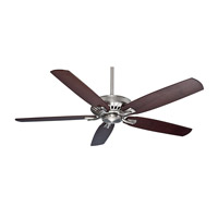 Crestmont Brushed Nickel Ceiling Fan Motor, Blades Sold Separately