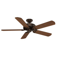 Panama 54 inch Brushed Cocoa with Reversible Walnut/Burnt Walnut Veneer Blades Ceiling Fan