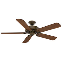 Panama 54 inch Aged Bronze with Reversible Walnut/Burnt Walnut Veneer Blades Ceiling Fan