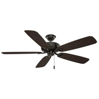 Casablanca 55074 Charthouse 60 inch Noble Bronze with Reversible Espresso Plastic Blades Outdoor Ceiling Fan