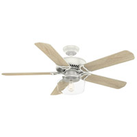 Panama 54 inch Fresh White with Fresh White/Rustic Oak Blades Ceiling Fan