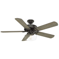 Panama 54 inch Noble Bronze with Barnwood/River Timber Blades Ceiling Fan
