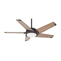 Stealth 54 inch Industrial Rust with River Timber Blades Indoor Ceiling Fan