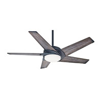 Casablanca 59093 Stealth 54 inch Aged Steel with Grey Washed / Grey Washed Blades Indoor Ceiling Fan