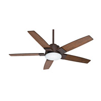 Casablanca Zudio 1 Light Ceiling Fan in Industrial 59111