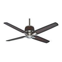 Aris 54 inch Brushed Nickel with Mayse Blades Ceiling Fan