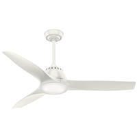 Wisp 52 inch Fresh White Indoor Ceiling Fan
