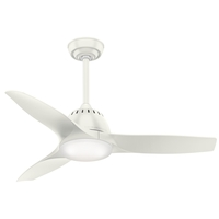 Wisp 44 inch Fresh White Ceiling Fan