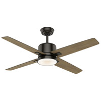 Casablanca 59341 Axial 52 inch Noble Bronze with Reversible River Timber/Grey Washed Veneer Blades Ceiling Fan