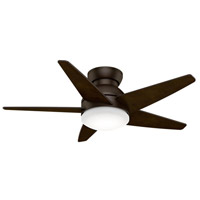 Isotope 44 inch Brushed Cocoa with Reversible Espresso Veneer Blades Ceiling Fan