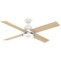 Daphne 54 inch Fresh White with Reversible Rustic Oak/Fresh White Blades Ceiling Fan