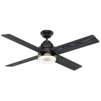 Daphne 54 inch Noble Bronze with Reversible Sea Salt Black/Eastern Walnut Blades Ceiling Fan