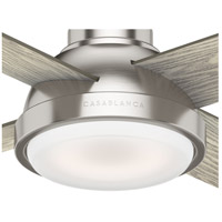 Casablanca 59433 Levitt 54 inch Brushed Nickel with Reversible Light Grey Oak/Barnwood Blades Ceiling Fan  alternative photo thumbnail