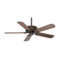 Panama 54 inch Brushed Cocoa with Walnut / Burnt Walnut Blades Indoor Ceiling Fan