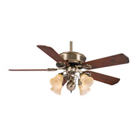 Casablanca BB21-WD Badge Dark Walnut 21 inch Set of 5 Fan Blade Set