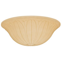 Casablanca Fan Accessory Fan Glass in Toffee 99063