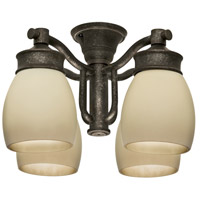 Casablanca Fan Accessory 4 Light Fan Light Kit in Aged Bronze 99087