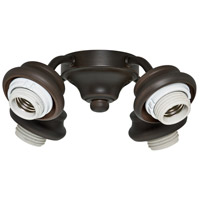 Casablanca Fan Accessory 4 Light Arm Fitter in Brushed Cocoa 99105