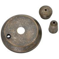 Casablanca 99129 Fan Accessory Aged Bronze Cap and Finial Pack