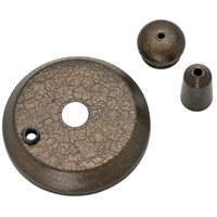 Casablanca 99132 Fan Accessory Provence Crackle Cap and Finial Pack