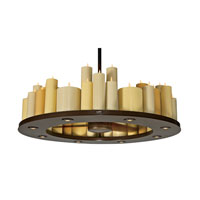 Casablanca Candelier (II) 56 Light Indoor Ceiling Fan in Oil Rubbed Bronze C16G73L alternative photo thumbnail