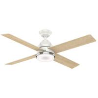 Casablanca 59413 Daphne 54 inch Fresh White with Fresh White, Rustic Oak Blades Ceiling Fan