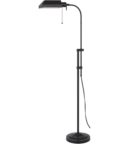 Cal Lighting Bo 117fl Db Pharmacy 46 Inch 100 Watt Dark Bronze Floor Lamp Portable Light Adjule Pole