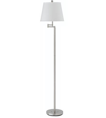 Cal Lighting Bo 2077swfl Bs Andros 60 Inch 150 Watt Brushed Steel Swing Arm Floor Lamp Portable