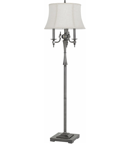 Antique Silver Metal Floor Lamps