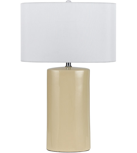 Beige Metal Table Lamps